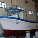 Bateau en résine fabriqué par : Société Polyservices -Sfax